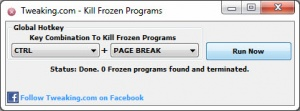 Enlarge Kill Frozen Programs Screenshot