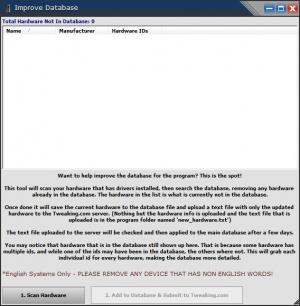 Enlarge Hardware Identify Screenshot