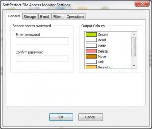 Enlarge SoftPerfect File Access Monitor Screenshot
