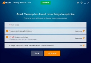 Enlarge Avast Cleanup Screenshot