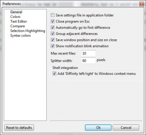 Enlarge Diffinity Screenshot