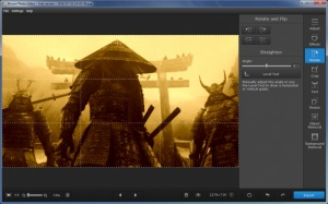Enlarge Movavi Photo Editor Screenshot