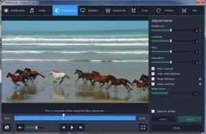 Enlarge Movavi Video Converter Screenshot