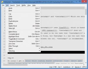 Enlarge Textadept Screenshot