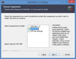 Enlarge ASIO4ALL Screenshot