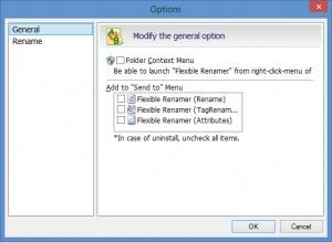 Enlarge Flexible Renamer Screenshot