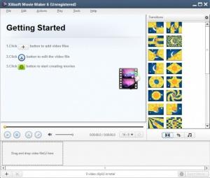 Enlarge Xilisoft Movie Maker Screenshot