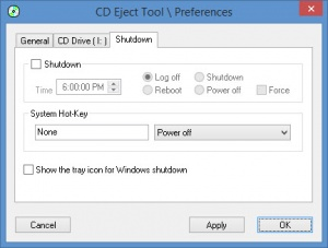 Enlarge CD Eject Tool Screenshot