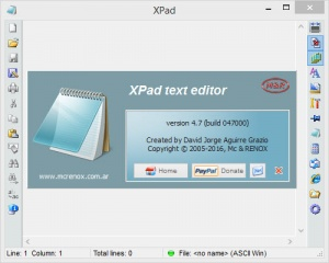 Enlarge XPad Screenshot