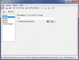 Enlarge ClipTrap Screenshot