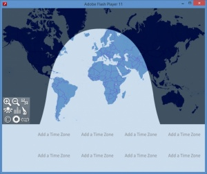Enlarge World Clock Screenshot