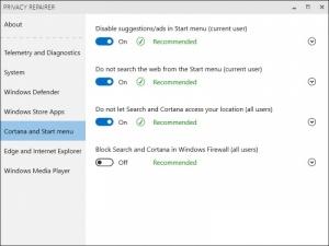 Enlarge Privacy Repairer Screenshot