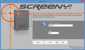 Enlarge Screeny Screenshot