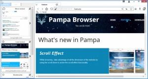 Enlarge Pampa Browser Screenshot