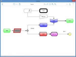 Enlarge Cubetto Screenshot