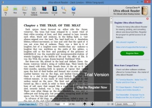 Enlarge Ultra eBook Reader Screenshot