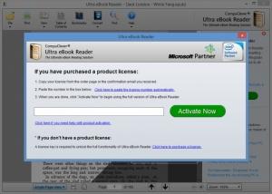 Enlarge Ultra eBook Reader Screenshot
