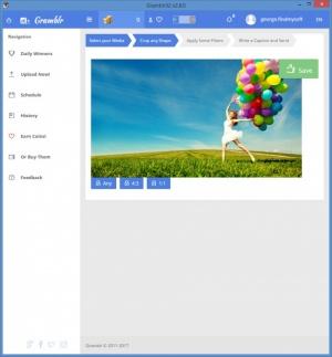 Enlarge Gramblr Screenshot