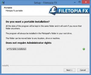 Enlarge Filetopia Screenshot