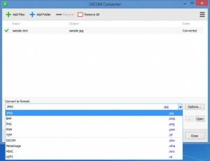 Enlarge DICOM Converter Screenshot
