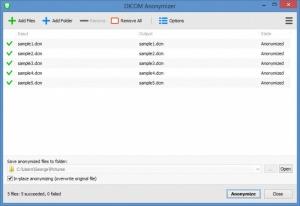 Enlarge DICOM Anonymizer Screenshot