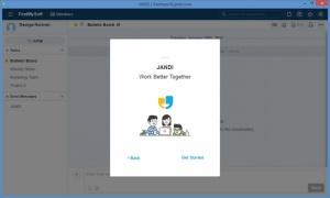 Enlarge JANDI Screenshot