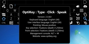Enlarge OptiKey Screenshot