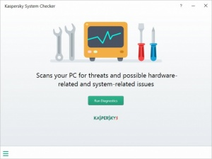Enlarge Kaspersky System Checker Screenshot