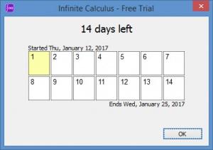 Enlarge Infinite Calculus Screenshot