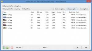 Enlarge Photo Window Screenshot
