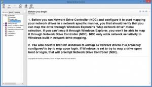 Enlarge Network Drive Control Screenshot