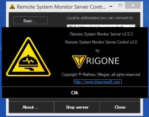 Enlarge Remote System Monitor Screenshot