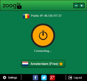 Enlarge Zoog VPN Screenshot