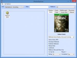 Enlarge Photon Game Manager Screenshot