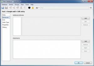 Enlarge KeePassXC Screenshot