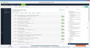 Enlarge Free Windows Admin Tools Screenshot