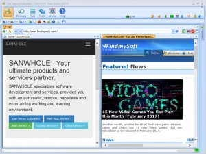 Enlarge Vole Internet Expedition Screenshot