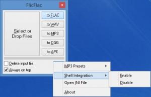 Enlarge FlicFlac Screenshot