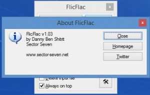 Enlarge FlicFlac Screenshot