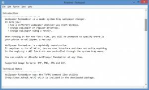 Enlarge Wallpaper Randomizer Screenshot