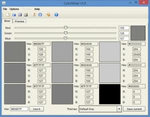 Enlarge ColorMixer Screenshot