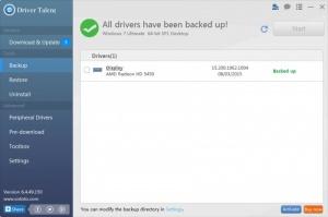 Enlarge Driver Talent Screenshot