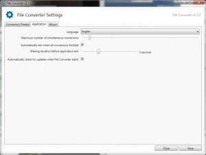 Enlarge File Converter Screenshot