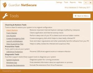Enlarge Guardian NetSecure Screenshot