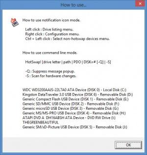 Enlarge HotSwap! Screenshot