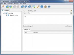Enlarge LanSend Screenshot