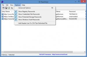 Enlarge IE PassView Screenshot