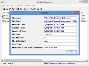 Enlarge BulkFileChanger Screenshot