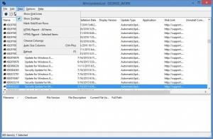 Enlarge WinUpdatesList Screenshot