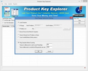 Enlarge Product Key Explorer Screenshot